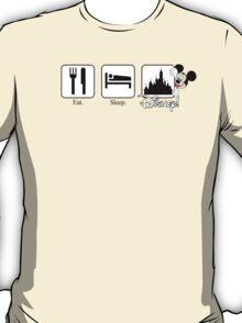 Eat. Sleep. Disney! Mickey Tee for Him T-Shirt