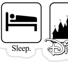 Eat. Sleep. Disney! Mickey Tee for Him Sticker