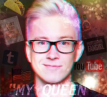 Tyler Oakley - Retro by fandomchic