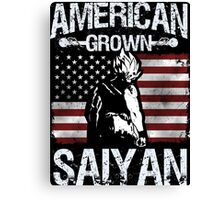 American Grown Saiyan Canvas Print