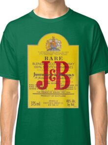 J&B Rare Scotch Whisky Blend Classic T-Shirt