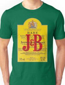 J&B Rare Scotch Whisky Blend Unisex T-Shirt
