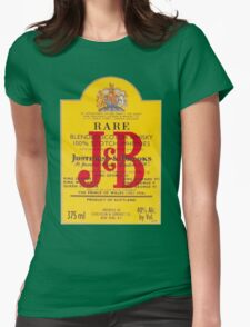 J&B Rare Scotch Whisky Blend Womens Fitted T-Shirt