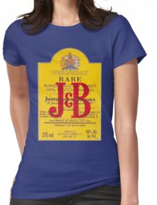 J&B Rare Scotch Whisky Blend Womens Fitted T-Shirt