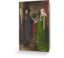 Van Eyck - Arnolfini Portrait Greeting Card