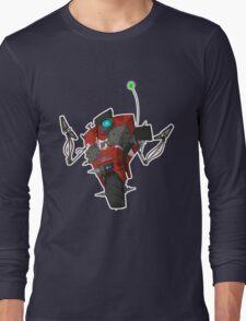 Badass Claptrap Sticker Long Sleeve T-Shirt