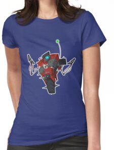 Badass Claptrap Sticker Womens Fitted T-Shirt