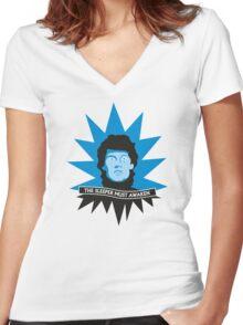 The Sleeper Must Awaken Women's Fitted V-Neck T-Shirt