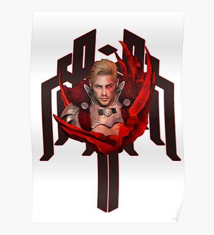 Red Templar Poster