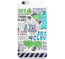 Monsters U! iPhone Case/Skin