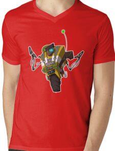 Soldier Claptrap Sticker Mens V-Neck T-Shirt