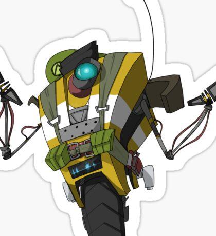 Soldier Claptrap Sticker Sticker