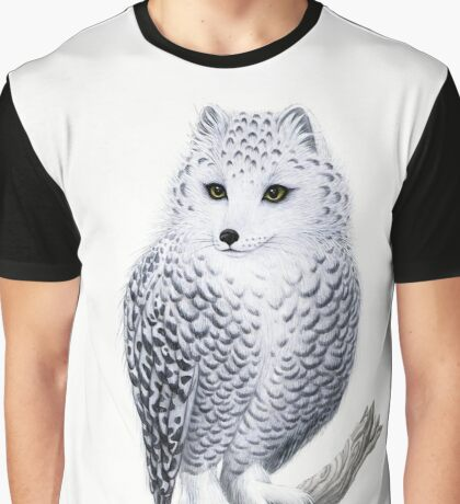 Snowy Fowl Graphic T-Shirt