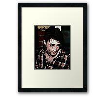 Daniel Radcliff Framed Print
