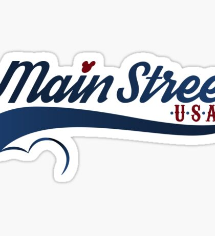 Main Street, U.S.A. Sticker