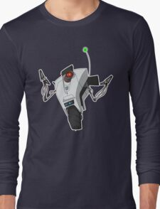 Portal Claptrap Sticker Long Sleeve T-Shirt