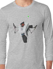Portal Claptrap Sticker Long Sleeve T-Shirt