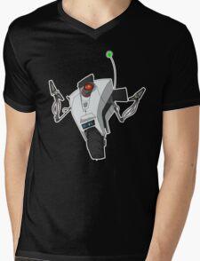 Portal Claptrap Sticker Mens V-Neck T-Shirt