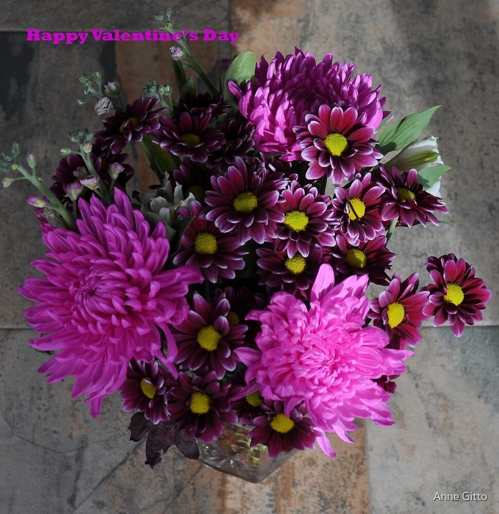"Love is ""Happy Valentine's Day"" by Anne Gitto"