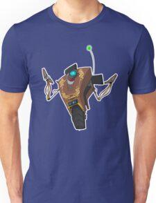 Jakob's Claptrap Sticker Unisex T-Shirt