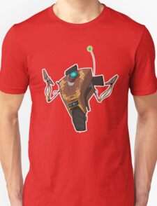 Jakob's Claptrap Sticker T-Shirt