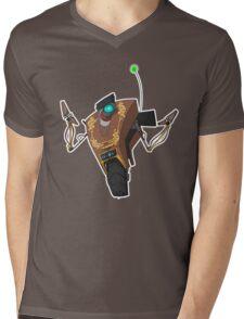 Jakob's Claptrap Sticker Mens V-Neck T-Shirt