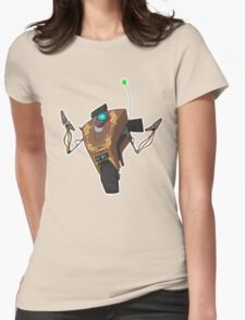 Jakob's Claptrap Sticker Womens T-Shirt