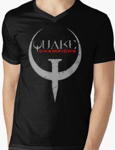 Quake Champions Mens V-Neck T-Shirt