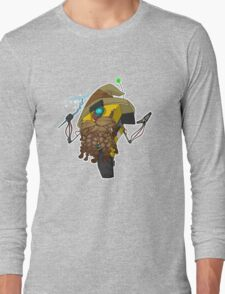 Wizard Claptrap Sticker Long Sleeve T-Shirt