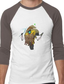 Wizard Claptrap Sticker Men's Baseball ¾ T-Shirt