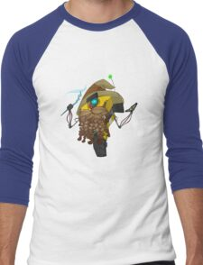 Wizard Claptrap Sticker Men's Baseball ¾ T-Shirt