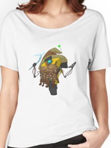 Wizard Claptrap Sticker Women's Relaxed Fit T-Shirt