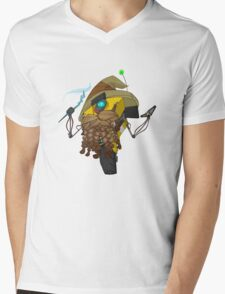 Wizard Claptrap Sticker Mens V-Neck T-Shirt