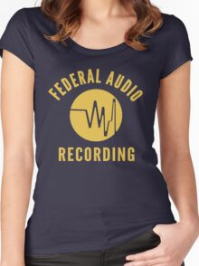 Federal Audio Recording Women's Fitted Scoop T-Shirt