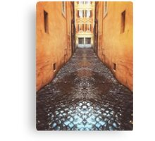 Street in Rome Canvas Print