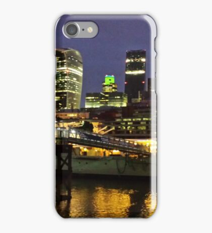 The City at Night iPhone Case/Skin