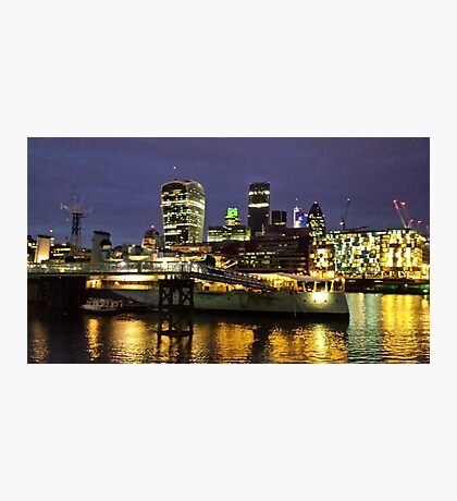 The City at Night Photographic Print