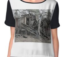 Nobody lives there anymore 6 Women's Chiffon Top