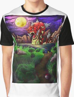 Red Gyarados Graphic T-Shirt