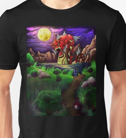 Red Gyarados Unisex T-Shirt