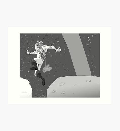MoonBound Art Print