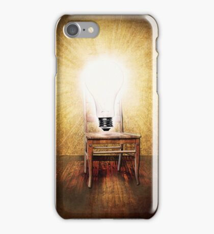 The Seat of Big Ideas iPhone Case/Skin