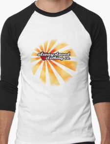 Retro Sunset Men's Baseball ¾ T-Shirt