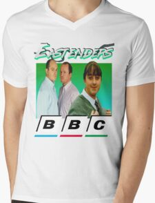 Eastenders 90's Vintage Mens V-Neck T-Shirt