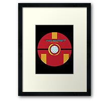 Stark Tech Pokeball Framed Print