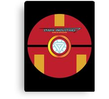 Stark Tech Pokeball Canvas Print