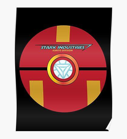 Stark Tech Pokeball Poster