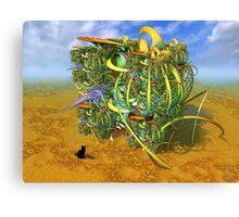 Missy & The Earthlander Canvas Print