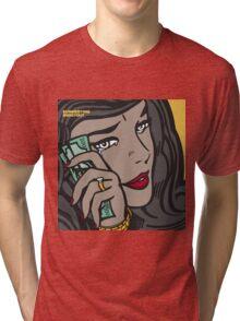 Summertime Shootout 2 cover Tri-blend T-Shirt