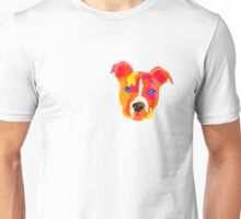 Pitbull rainbow Unisex T-Shirt